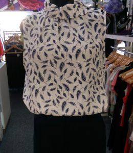 Privilege sleeveless blouse