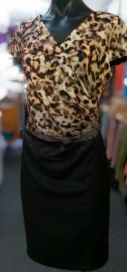 New Cover Animal Print Dress