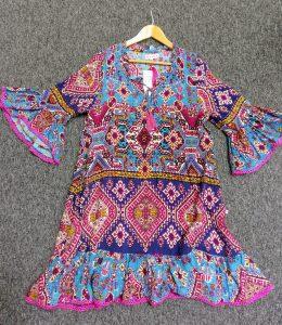 NAUDIC HACIENDA DRESS