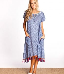 NAUDIC SAO POALO CASTAWAY DRESS