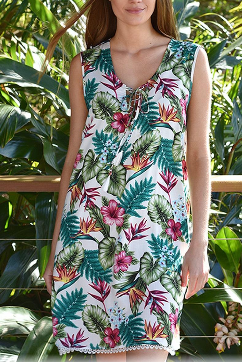 zen garden path dress