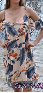 ZEN GARDEN SHORELINE DRESS