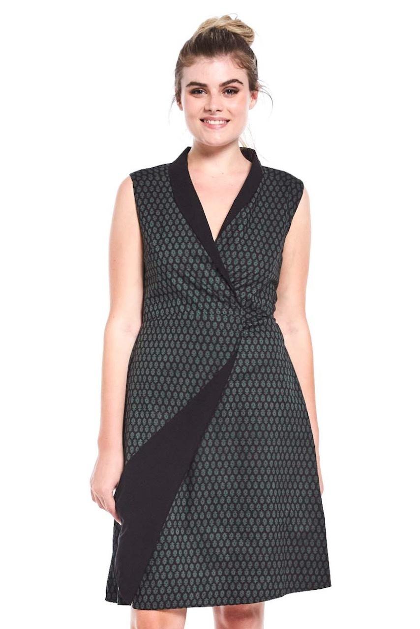 maha wrap dress
