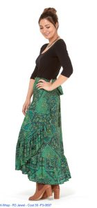 RASALEELA WRAP SKIRT