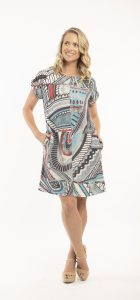 ORIENTIQUE FARAGA DRESS