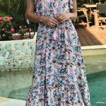 Samadhi maxi dress