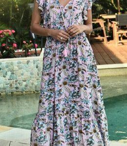 Zen Garden Samadhi Maxi Dress