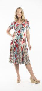 ORIENTIQUE KEFALONIA SWING DRESS