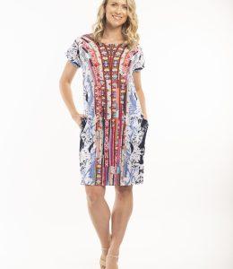 ORIENTIQUE SKYROS REVERSIBLE DRESS
