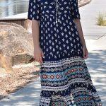 ananda maxi dress