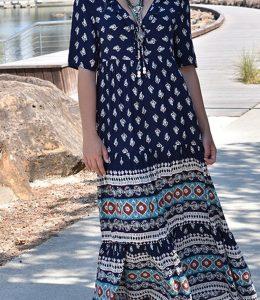 Zen Garden Ananda Maxi Dress