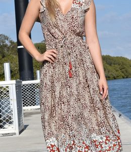 Zen Garden Bangalow Maxi dress