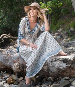 ESCAPE DELPHI MAXI DRESS