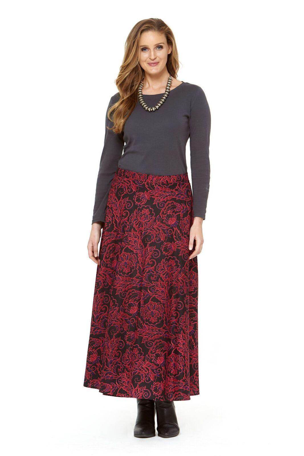 grace skirt red