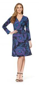 Rasaleela Sunburst Wrap Dress