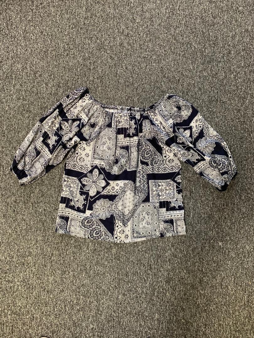 navy lace flat