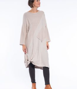 CAFE LATTE TUNIC DRESS